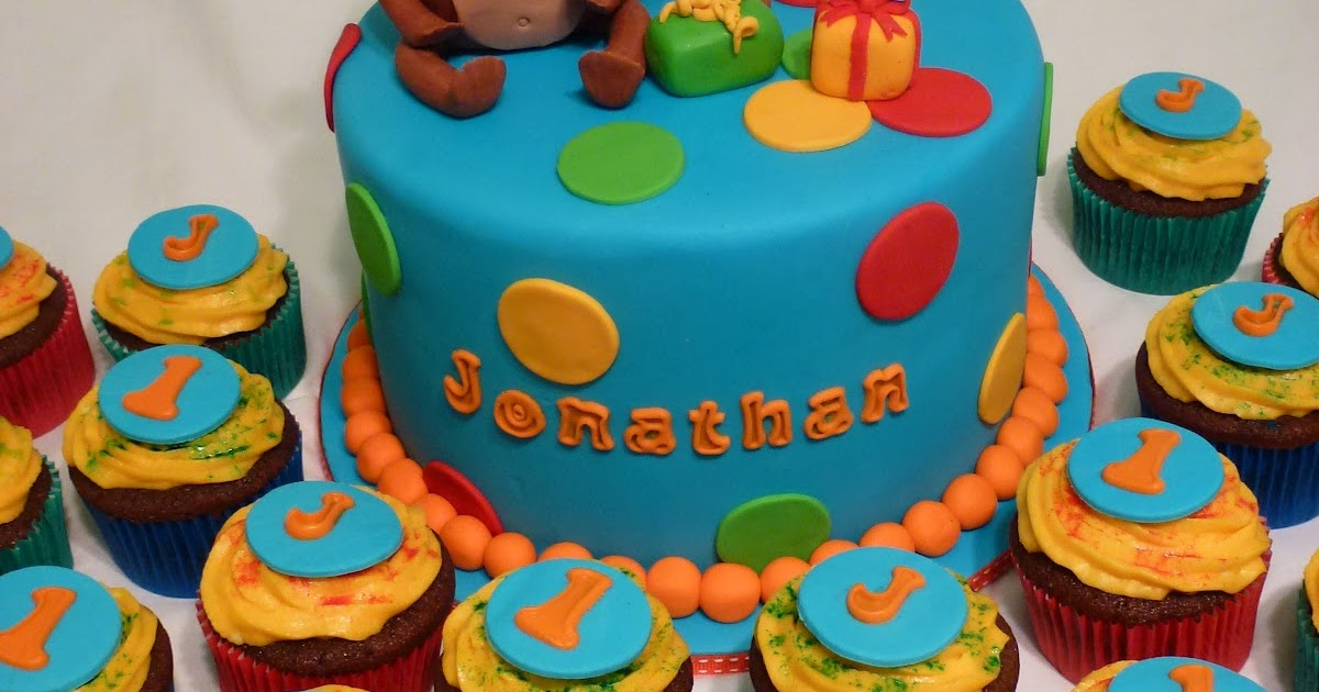 Cakes And Other Delights Happy 1st Birthday Jonathan