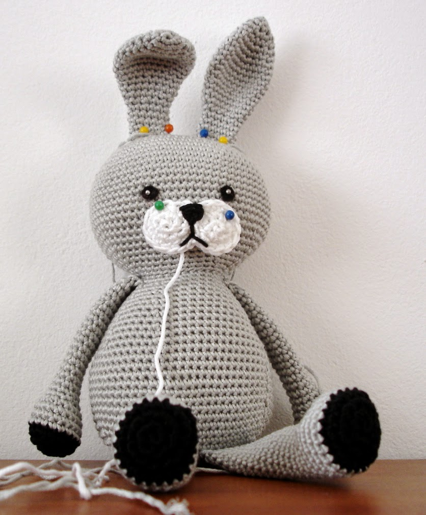 Crochet Patterns Rabbit : The Cutest Bunny Rabbit Free Crochet Patterns Free Crochet Patterns ...