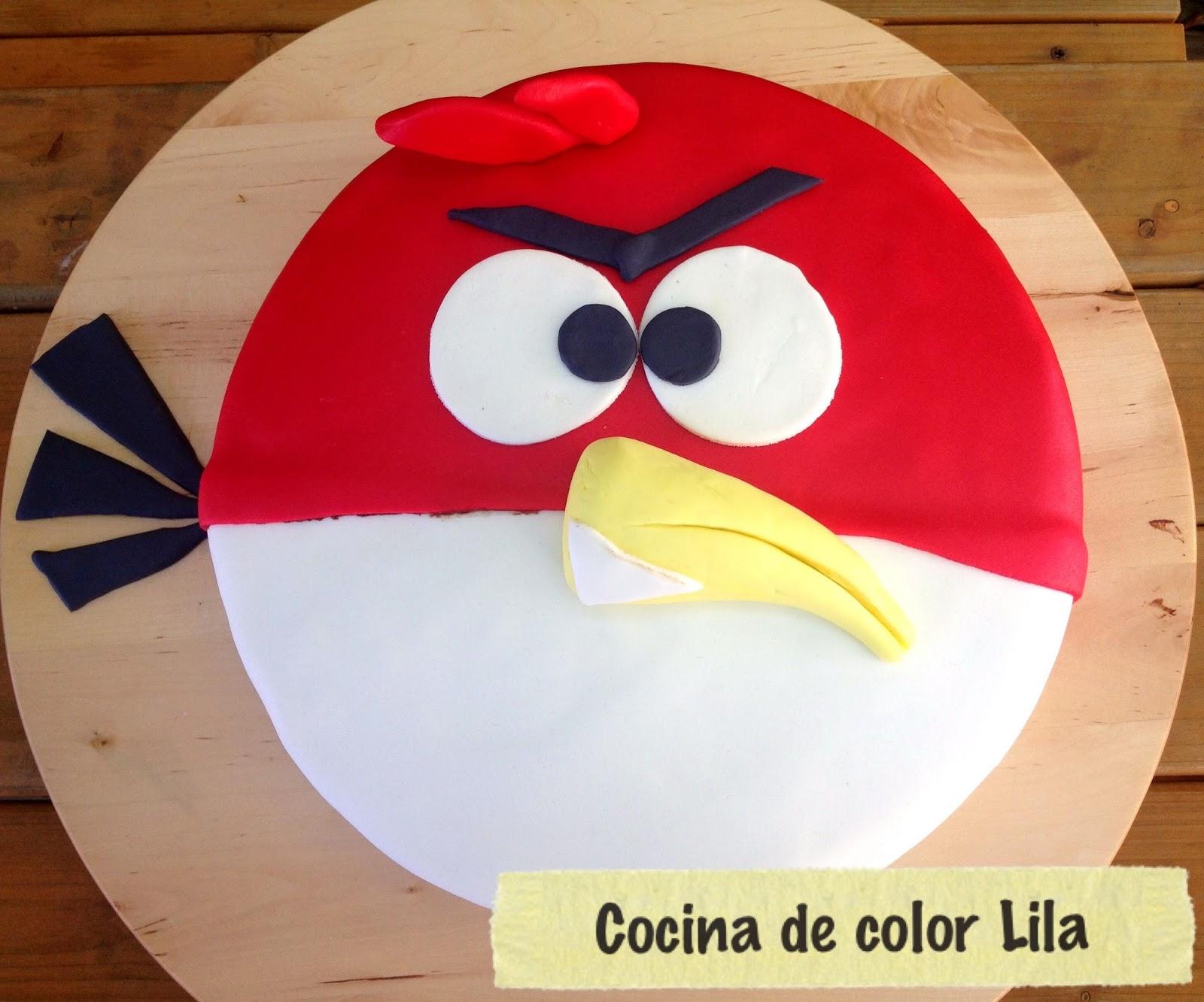 Cocina de color lila tarta angry bird - Cocina color lila ...