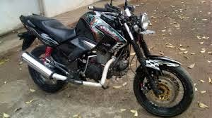 modifikasi motor honda tiger 2000 street fighter