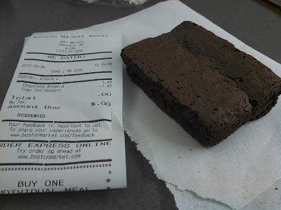 Boston Market Chocolate Cake Review