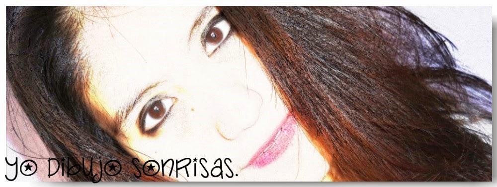 *-*Yo dibujo sonrisas.