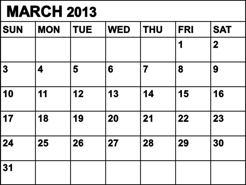 Calendar March : Free is my life freeismylife march calendar don t