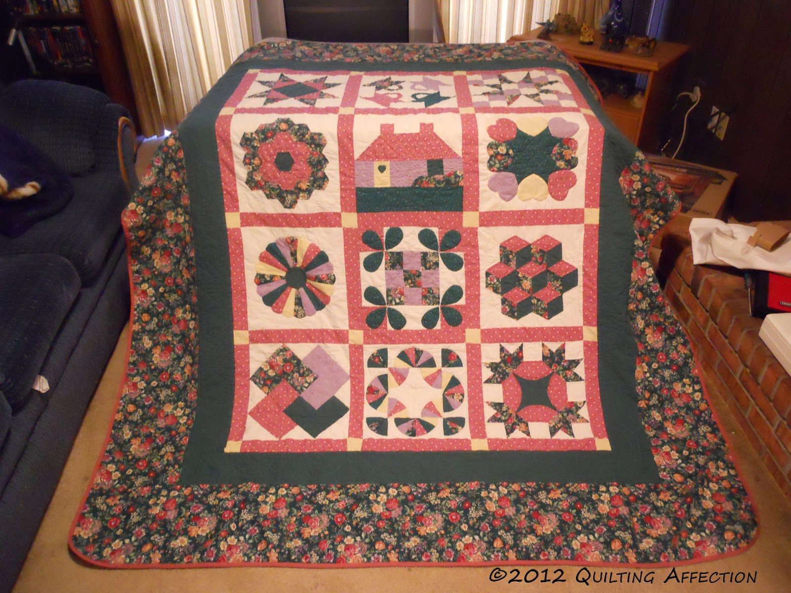 Quilting Affection Designs My First Quilts
