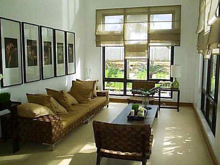 Ideas for small living room layout in the philippines for Small house exterior design philippines