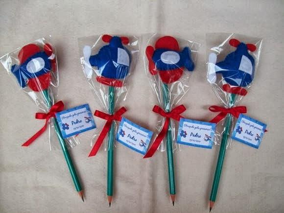 Ponteiras de lápis com moldes para lembrancinhas do dia das Crianças ou  festinhas de aniversários! cf385bfcee4