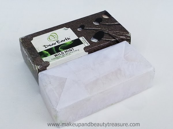 Dear Earth Wild Mint Cleansing Soap