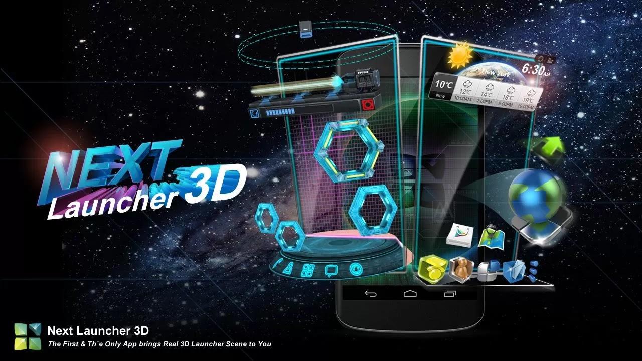 Next Launcher 3D v2.0