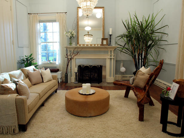 Modern Furniture Modern Style For Classic Living Room Ideas 2011 From HGTV D