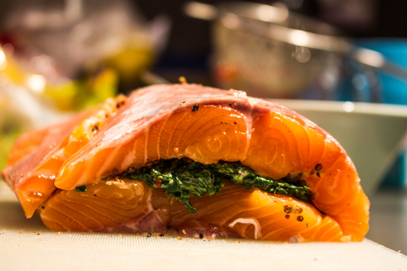 The salmon of the salmon en croute | Svelte Salivations