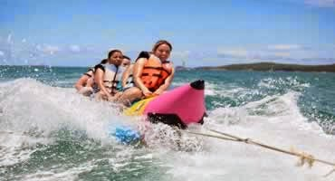 Bali Water Sports and Dinner Tour