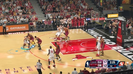 NBA 2K14 Player Rhythm