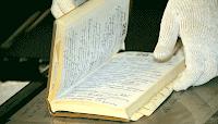 Старый дневник в архиве