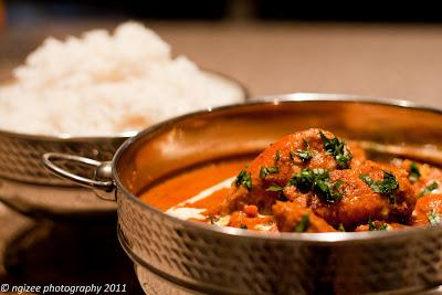 I am no food critic but butter chicken murgh makhani - First restaurant port louis ...
