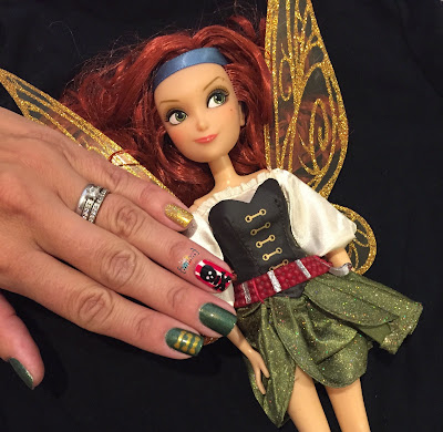 My Nail Polish Obsession Pirate Fairy Zarina Nails