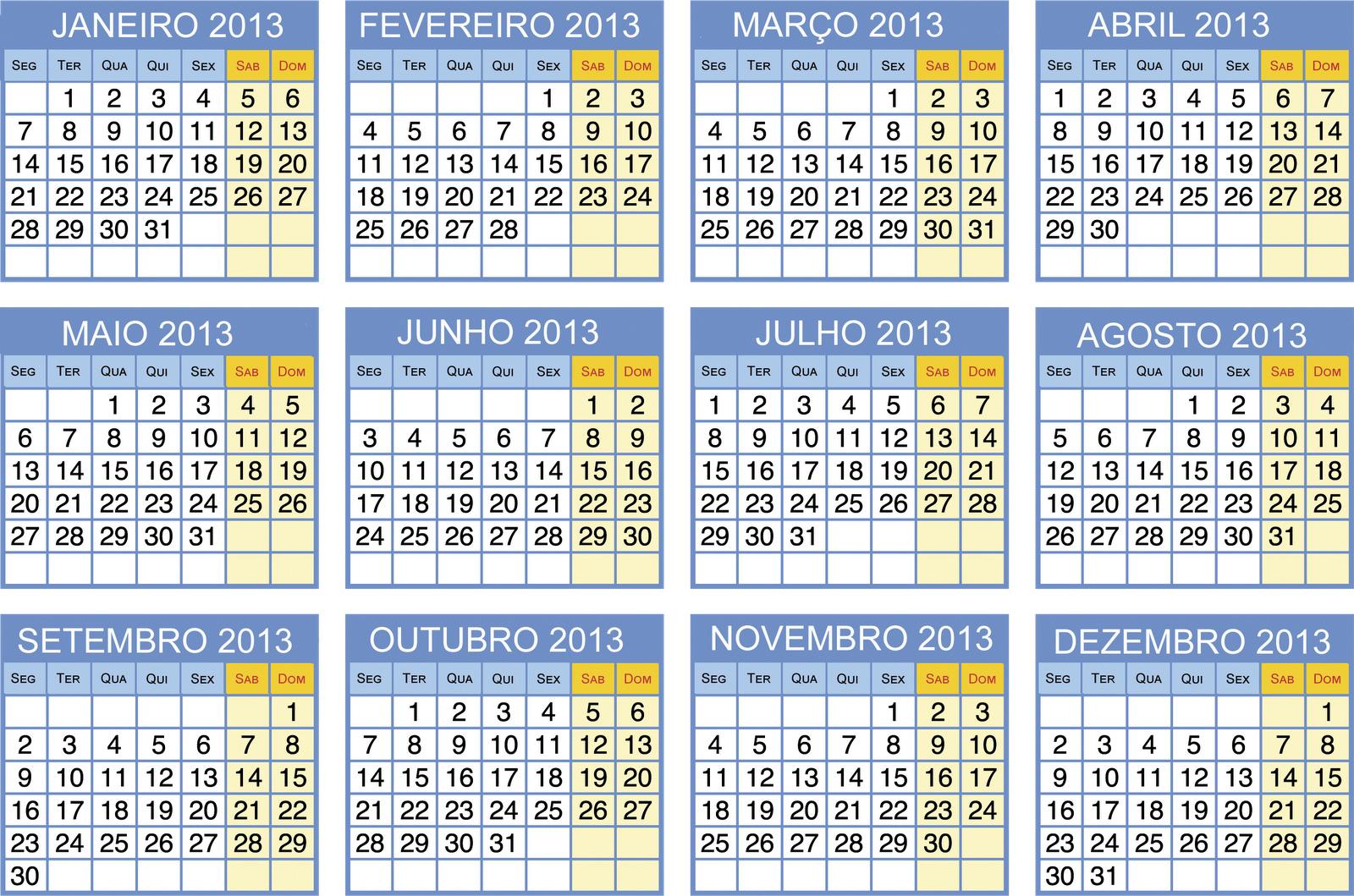 para imprimir - calendários de ano novo para imprimir - Calendários