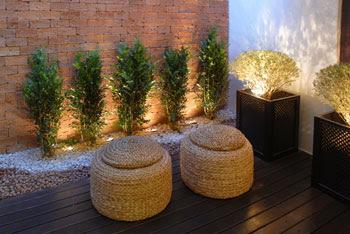Decoração Rústica - Madeira e Arte - Alpendre e Jardim Exterior