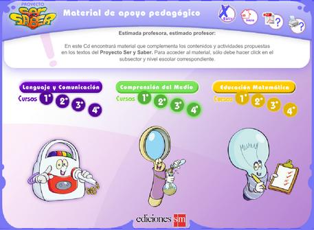 Fichas de repaso de lengua, matemáticas y comprensión del medio para 1º, 2º, 3º y 4º de educación p