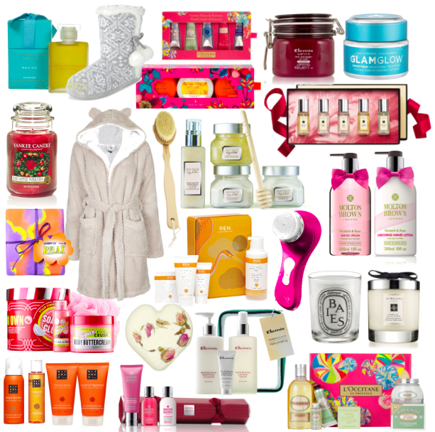 Christmas Gift Guide, Relaxation and Pamper Christmas Gifts, Christmas Gift Sets