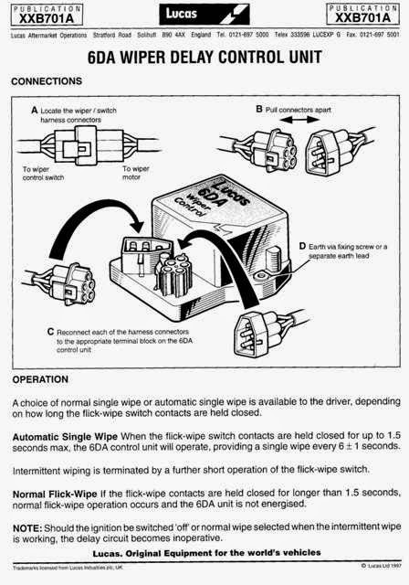 lucas wiper motor wiring diagram lucas image lucas tvs wiper motor wiring diagram jodebal com on lucas wiper motor wiring diagram