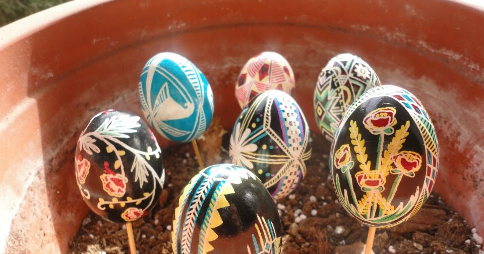 Classroom Easter Ideas ~ Montessori easter activities ukrainian eggs in