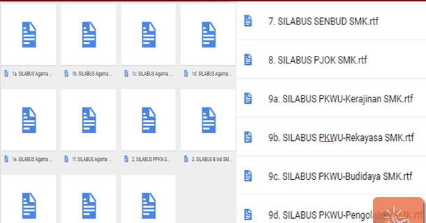 Download Silabus Mata Pelajaran Wajib A B Dan Peminatan