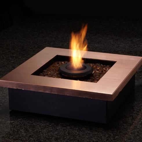 modern firepit