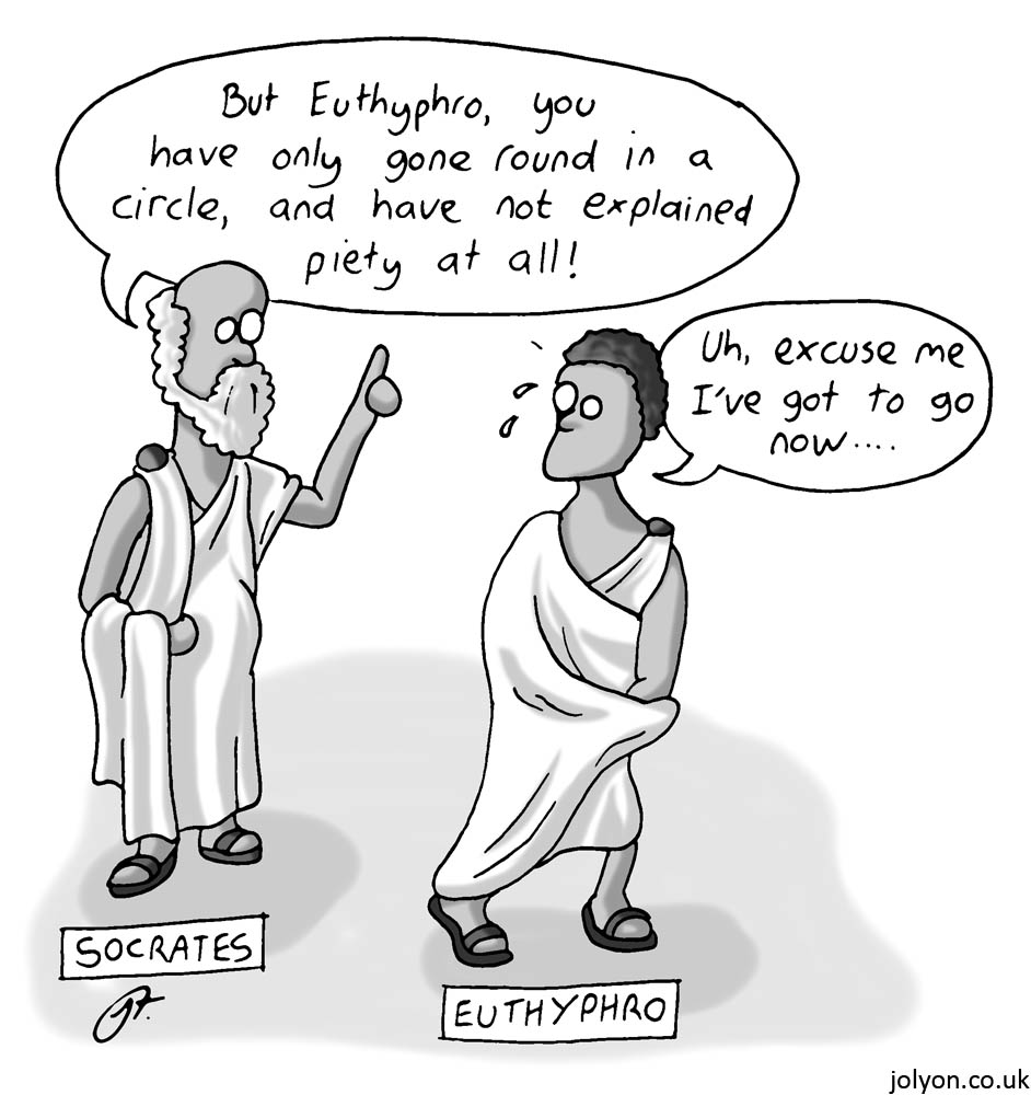 what piety really is and what it means in platos euthyphro Socrates euthyphro scene — i mean, seriously — do you really believe all the stories about the gods euthyphro: yes, socrates.