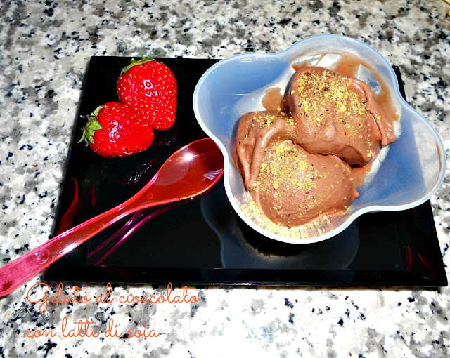 gelato al cioccolato home made (con gelatiera)