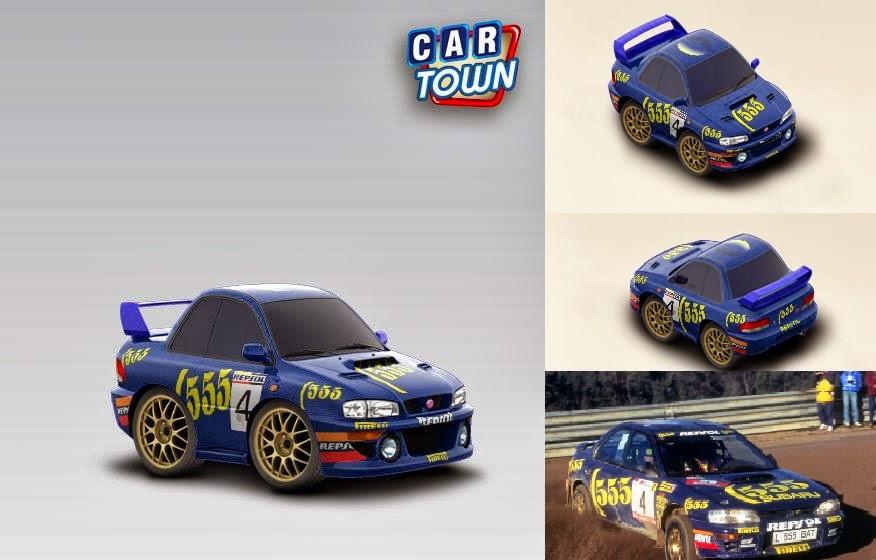 Subaru Rally Graphics Subaru Impreza 39 95 Rally Car
