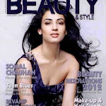 Sonal Chauhan on the cover of Beauty & Style