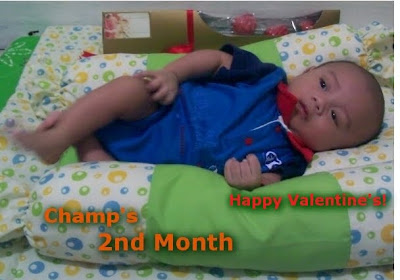 Baby Champ is 2 Months Old