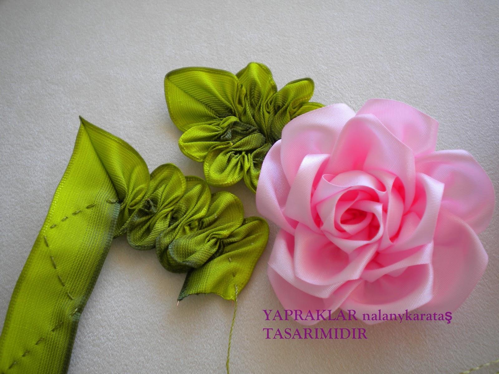 Цветы из атласных лент мастер класс видео