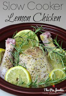 crock pot lemon rosemary chicken