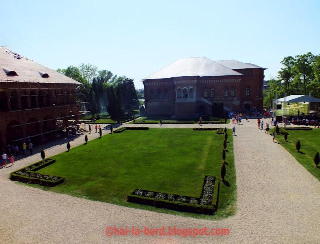 palatul mogosoaia vedere din turn 1 mai 2012