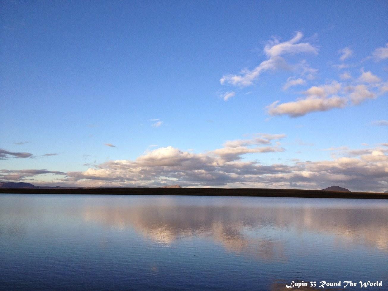 冰島自助旅行遊記照片Day5米湖