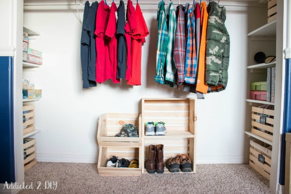 crate closet system