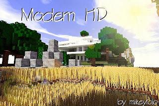 Modern HD Resource Pack 1.7.2/1.6.4/1.6.2