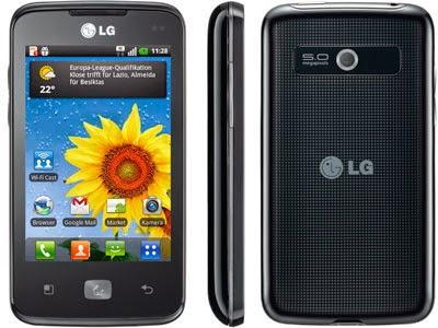 LG Optimus Hub E510, Manual del usuario, Instrucciones en PDF, guía en Español