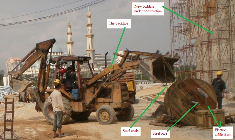 Electrical Installation Wiring Pictures  Backhoe  The Cable Trench Excavator