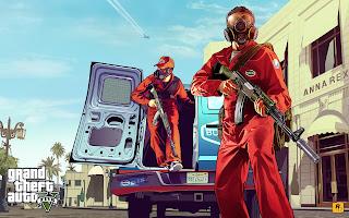 grand theft auto v artwork 1 Grand Theft Auto V   Artwork