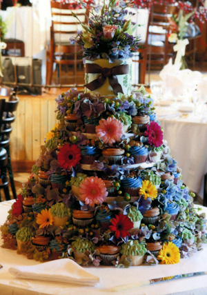 the fanciful wedding cupcake wedding cakes