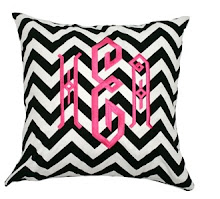 Monogram Home Decor Items