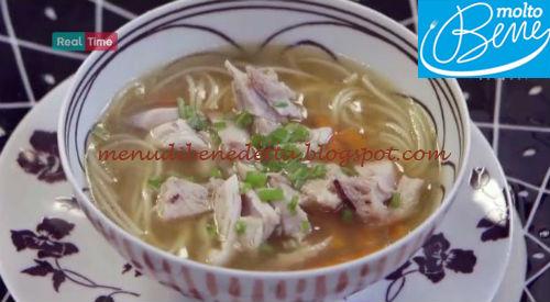 Noodles ricetta Parodi per Molto Bene