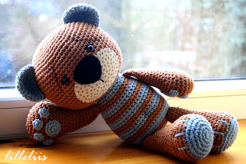 Crochet Teddy Bear : ... .com: Heegeldatud kaisukaru pojale/Crochet teddy bear for my son