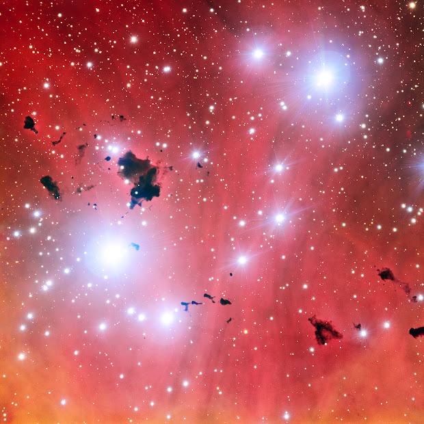 Open Cluster and Emission Nebula IC 2944