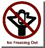 no freak out zone