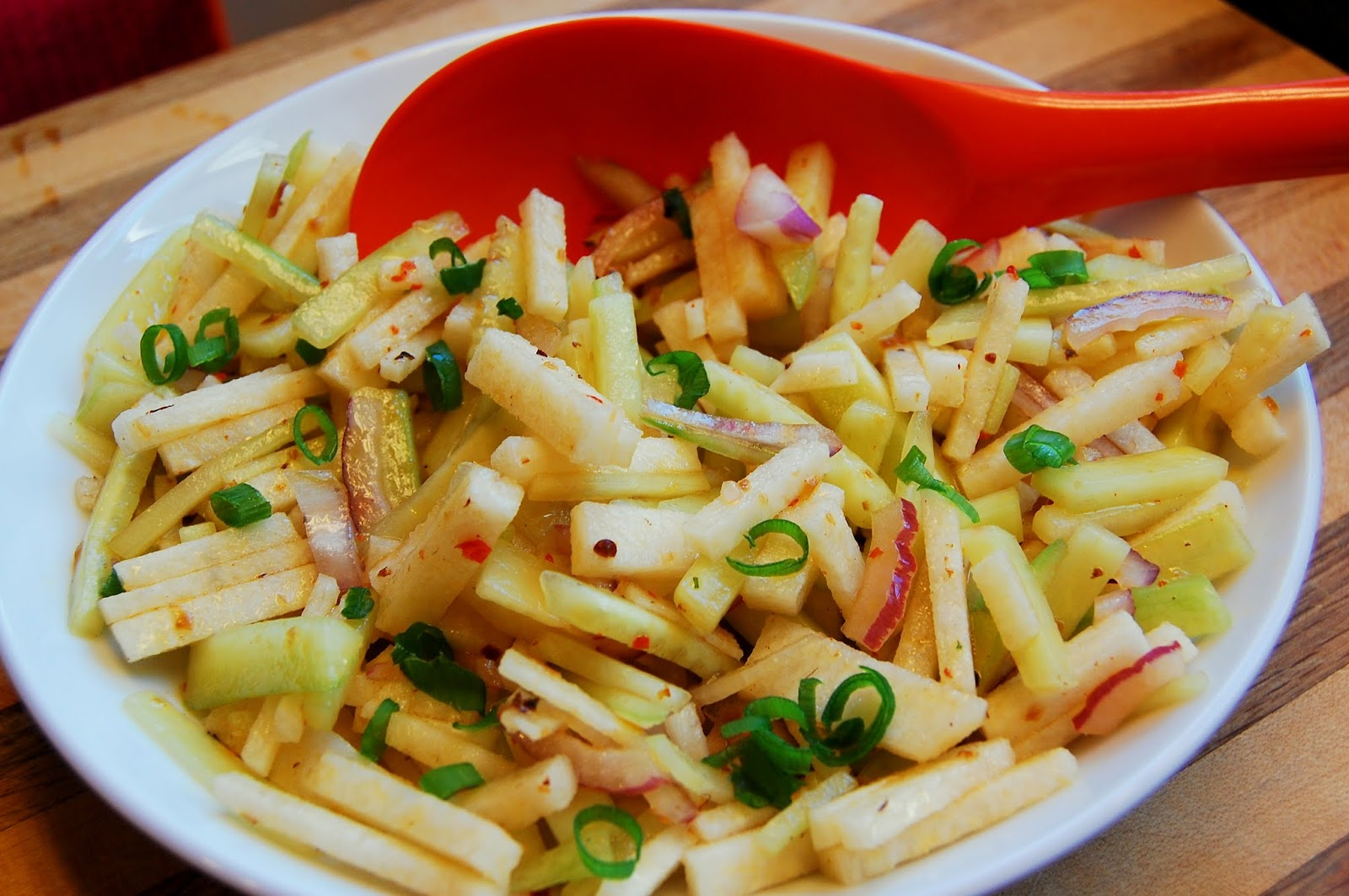 jicama slaw rick s mango jicama and cucumber salad s apple jicama ...