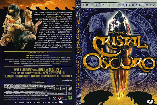 Cristal Oscuro DVD