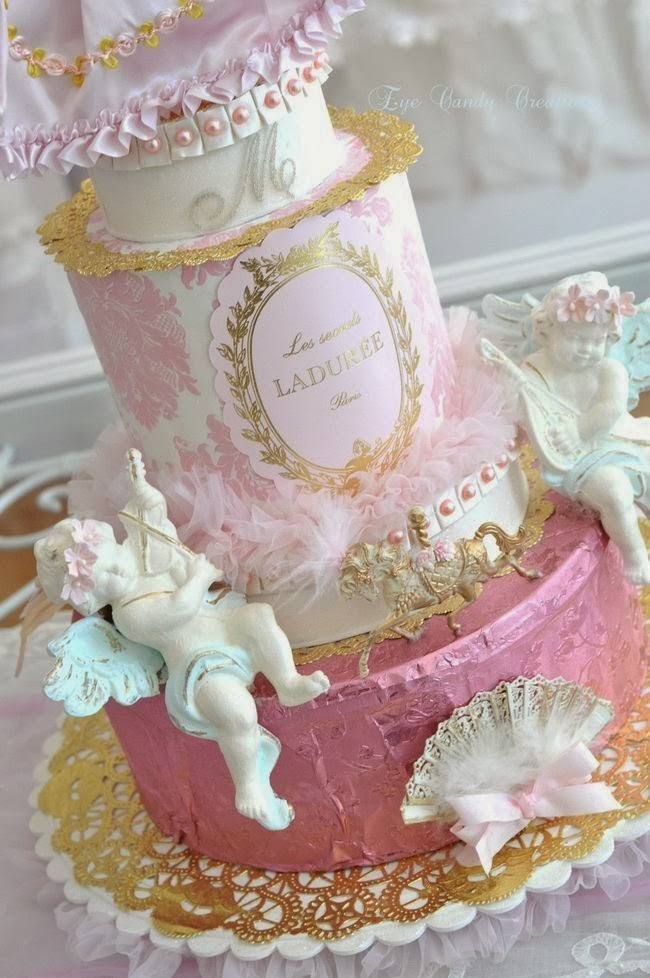 laduree, baroque cake